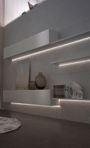 Светодиодная лента в силиконе 120 led/м 1м