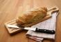 Grawe разделочная доска для резки хлеба и багета в комплекте с н
