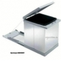 Prima Tecnoinox - мусорное ведро с отделкой из нержавеющей стали