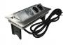 GLS FlipTop Push встраиваемая врезная розетка с USB зарядкой