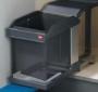 Выдвижное мусорное ведро Hailo Solo  20 л  3632-10