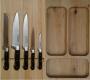 Лоток с 5 ножами CS-Kochsysteme Premium высокий
