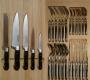 Лоток с 5 ножами CS-Kochsysteme Premium и столовыми приборами
