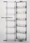 Выдвижной шкаф Duo-12 1850-2200мм в корпус 450 мм