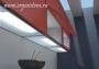 Люминесцентное световое дно для  навесного шкафа Pack 450