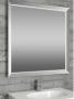 Зеркало со светодиодной Narciso TLD Twin 750x750 мм