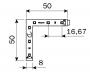 Светодиодный гибкий угловой элемент