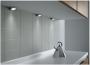 Комплект 3 угловых светодиодных светильников Metris ОВ V12 Set