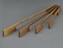 Деревянные мебельные ручки NEW AERO в исполнении дуб и орех