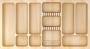 Универсальный деревянный лоток для столовых приборов бук 900мм