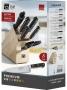 Набор ножей с подставкой под планшет CS-Kochsysteme Premium