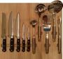 Лоток с кухонными принадлежностями Profi Plus WMF и ножами бук