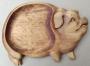 """Сервировочная доска для подачи мяса, дичи """"Свинка"""""""