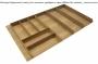 Высокий ламельный деревянный лоток для столовых приборов на 900