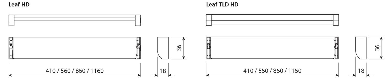 Схема подключения Leaf HD и